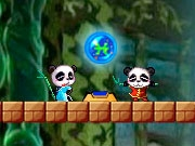 Play Twin Panda Adventure