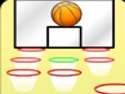 Play Multiplayer basketball shootout