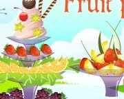 Play Beautiful fruit plates game