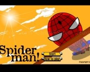 Play Spiderman trapeze