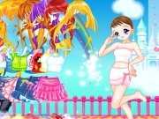 Play Candy colors castle dressup