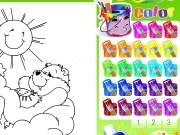 Play Coloriage bisounours