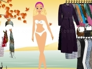 Play Autumn island dress up girl