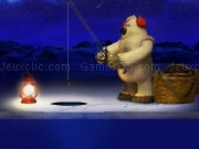 Play White bear fishing