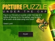 Play Picture puzzle - under the cap