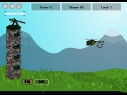 Play Tower defense against copter