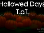 Play Hallowed days - Trick or Treat