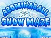Play Abominaball snow maze