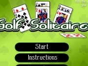 Play Golf solitaire