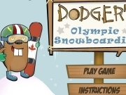 Play Dodgers olympic snowboarding