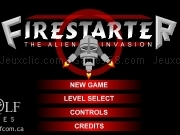 Play Firestarter - The alien invasion