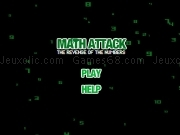 Play Math attack - the revenge of the numbers