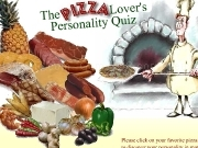 Play The pizza lovers personnality quiz