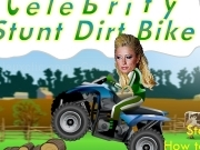 Play Celebrity stunt dirt bike