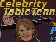 Play Celebrity table tennis